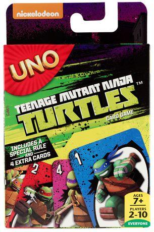 Teenage Mutant Ninja Turtle UNO Card Game - image 1 of 8