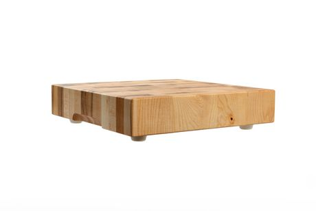 Labell Canadian Maple Wood Cutting Board - Butcher Block with Recessed Handles - image 1 of 2