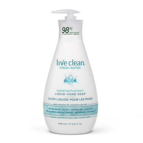 Live Clean Fresh Water Liquid Hand Soap - image 1 of 2