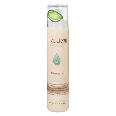 Live Clean Exotic Nectar Argan Oil Leave-in Conditioning ...