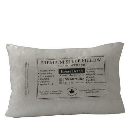 Oreiller pour lit HomeTex à couverture en tissu - image 1 de 7