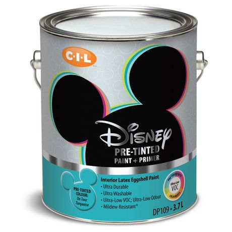 Disney Paint On Tour Turquoise L