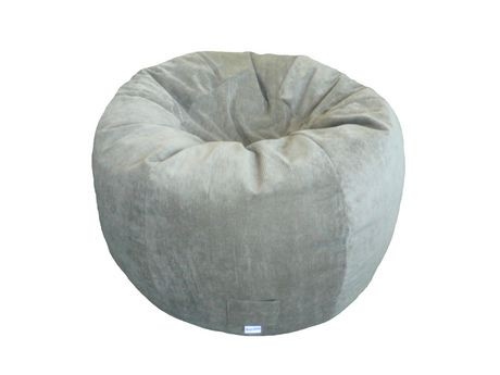 boscoman corduroy jumbo round bean bag walmart canada. Black Bedroom Furniture Sets. Home Design Ideas