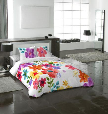 Ensemble housse de couette Spring Blossom de Gouchee Design pour grand lit - image 2 de 2