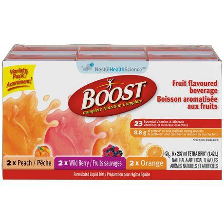 Boost Breeze Tropical Juice Drink