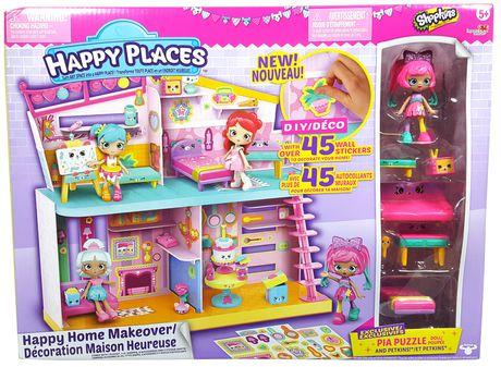 Shopkins Happy endroits Lil /'shoppie Pack Pia Puzzle jouet idée cadeau NOUVEAU