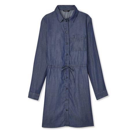 George Women's Denim Shirt Dress - image 6 of 6