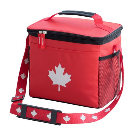 97455666630 Canada Day 9 Can Foldable Cooler Bag - image 1 of 2 ...