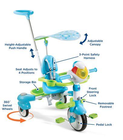 VTech Super tricycle interactif 4 en 1 - Version anglaise - image 6 de 9