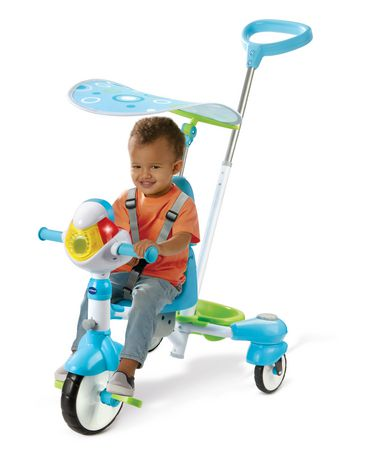 VTech 4-in-1 Stroll & Grow Tek Trike™ - French Version - image 3 of 9