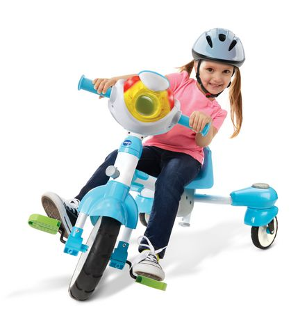 VTech 4-in-1 Stroll & Grow Tek Trike™ - French Version - image 5 of 9