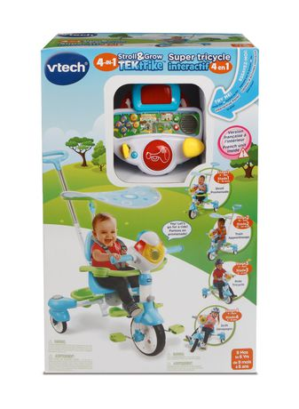VTech 4-in-1 Stroll & Grow Tek Trike™ - French Version - image 6 of 9