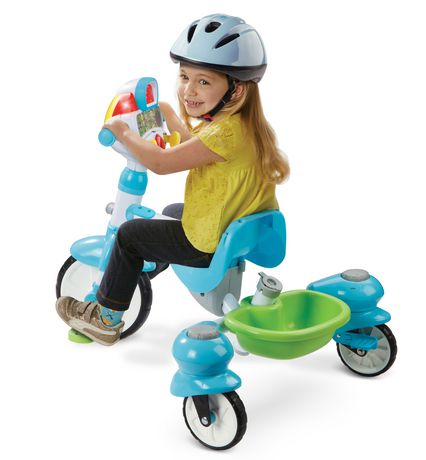 VTech 4-in-1 Stroll & Grow Tek Trike™ - French Version - image 8 of 9