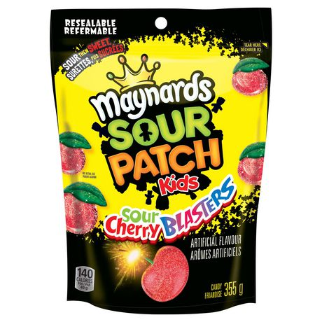 Maynards Sour Cherry Blasters Candy - image 1 of 3