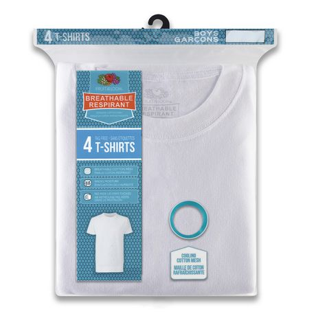 Fruit of the Loom Boys Breathable T-Shirt, 4-Pack - image 2 of 2