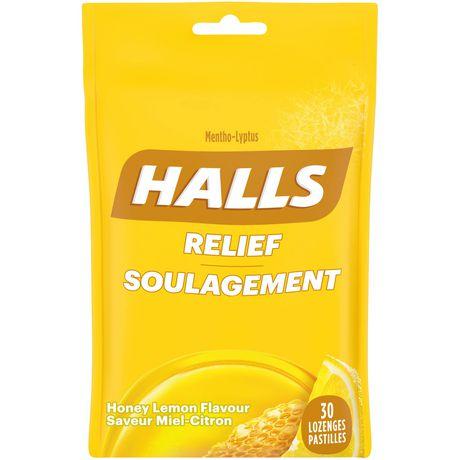 Pastilles Halls contre la toux miel-citron - image 1 de 2