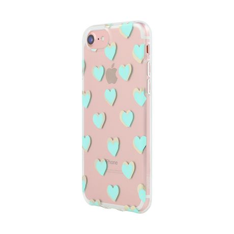 promo code 7d4f8 cc678 Incipio NGP Design Series Turquoise Hearts Case for iPhone 7/iPhone ...
