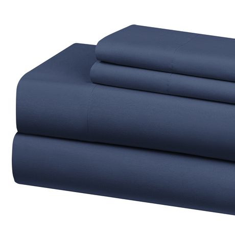 MAINSTAYS Cotton Poly Double Size Sheet Set - image 1 of 1