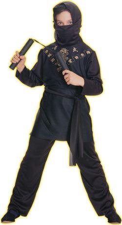 Rubie's Black Ninja Child Costume - image 1 of 2