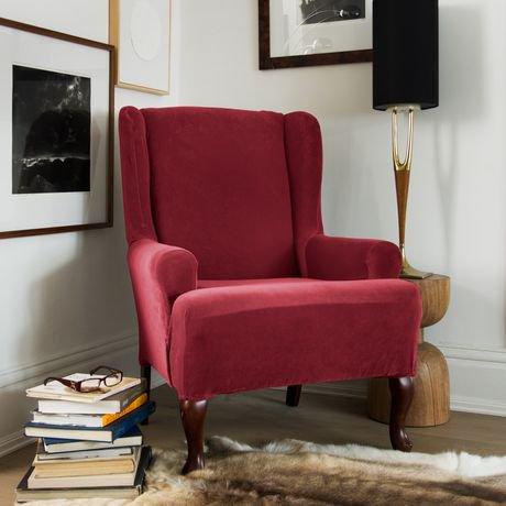Housse extensible pour fauteuil oreilles de sure fit en for Housse fauteuil a oreilles