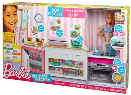 Cuisine Ultime De Barbie Walmart Canada