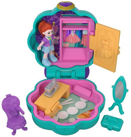 Polly Pocket Tiny Pocket World, Lila - image 1 of 6