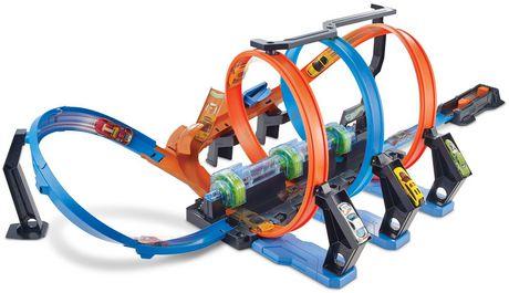 Hot Wheels Corkscrew Crash Track Set - image 2 of 9