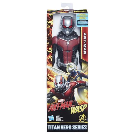 Marvel Ant-Man and the Wasp - Titan Hero Series - Ant-Man avec port Titan Hero Power FX - image 1 de 7