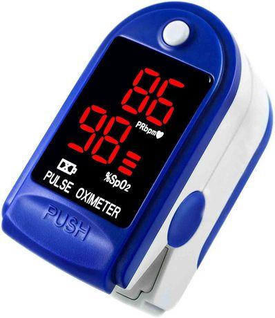 ToronTek H50 pulse oximeter measuring SPO2 and pulse rate