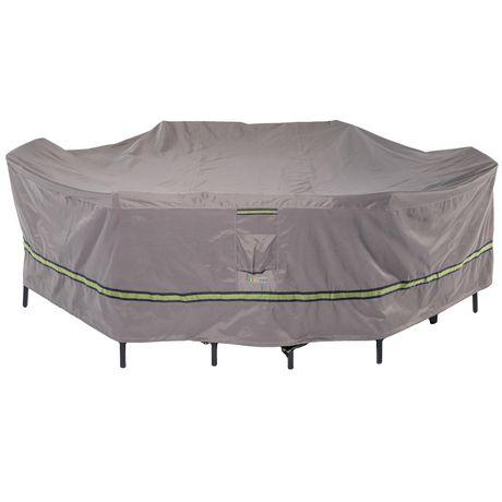 """Classic Accessories Duck Covers Soteria RainProof 127"""" Housse pour table et chaises rectangulaires / ovales - image 1 de 2"""