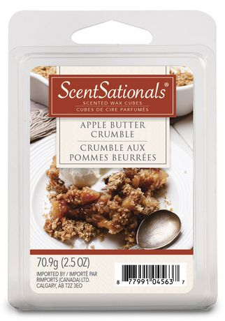 ScentSationals Apple Butter Crumble Scented Wax Cubes - image 1 of 1