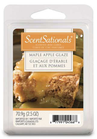 ScentSationals Maple Apple Glaze Scented Wax Cubes - image 1 of 1