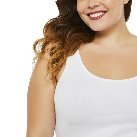 George Plus Women's Ribbed Tank - image 4 of 6