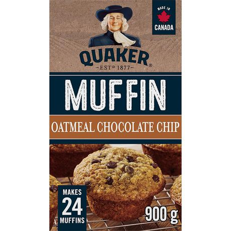 Quaker Oatmeal Chocolate Chip Muffin Mix - image 1 of 4