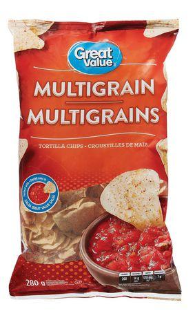 Great Value Multi-Grain Tortilla Chips - image 1 of 3
