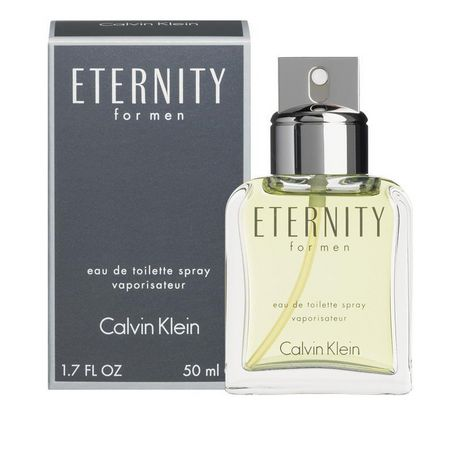 0486e2d43 Calvin Klein Eternity Eau De Toilette Spray for MEN 50 ml - image 1 of 1 ...