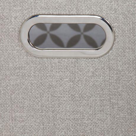 Ensemble de 2 paniers de rangement en tissu chambray et à motifs Storit de Meubles South Shore - image 5 de 7