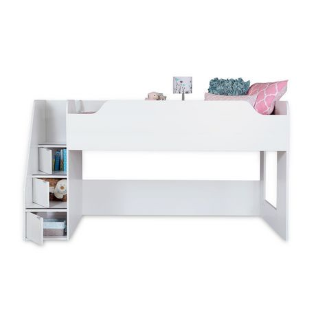 lit mezzanine avec escalier collection mobby de meubles south shore simple 39 po walmart canada. Black Bedroom Furniture Sets. Home Design Ideas