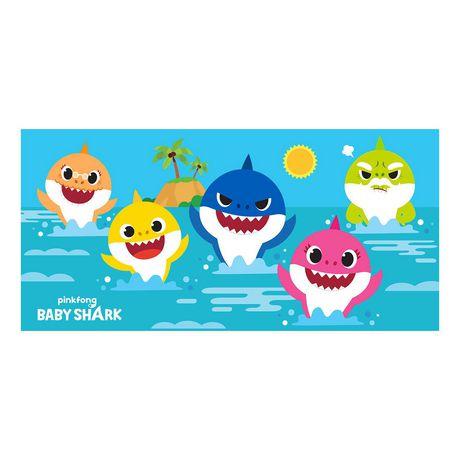 """Baby Shark """"Splashes of Fun"""" Beach Towel - image 1 of 1"""