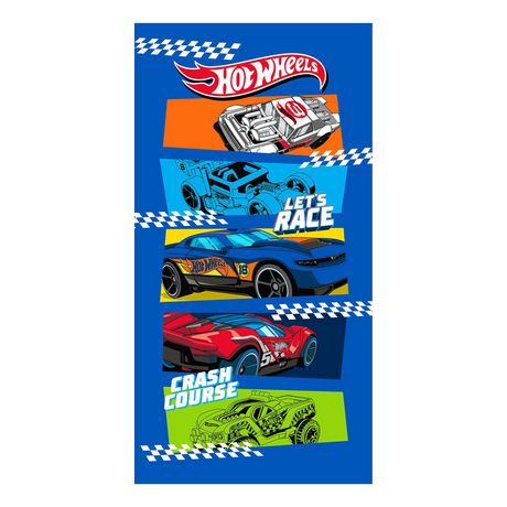 """Hot Wheels """"Finish First"""" Beach Towel - image 1 of 1"""