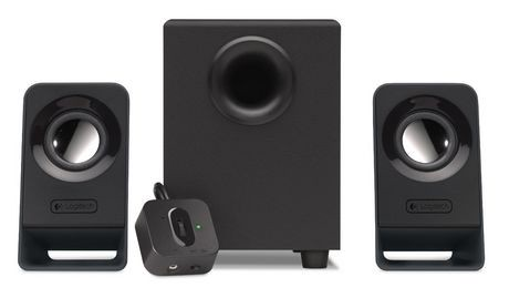 speakers walmart. logitech multimedia speakers with subwoofer z213 walmart
