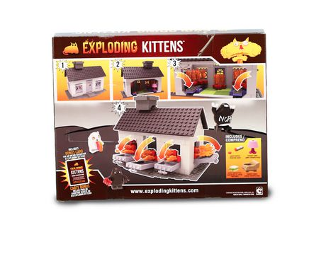 Exploding Kittens - Collector Construction - Exploding House Scene Set - image 2 of 6