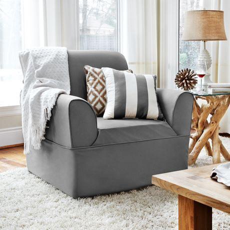 Housse enveloppante non extensible pour fauteuil for Housse extensible pour fauteuil