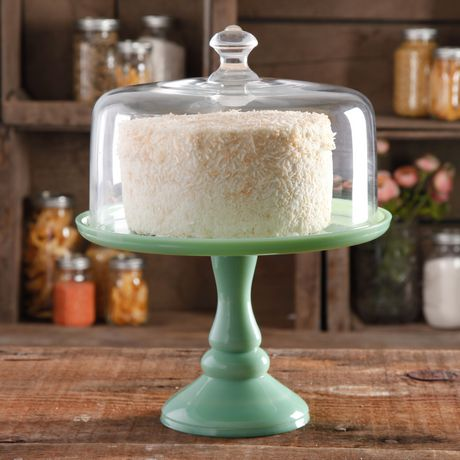 The Pioneer Woman Timeless Beauty 10 Inch Cake Stand