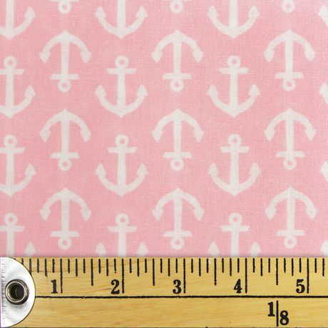 Fabric Creations Fat Quarter Light Pink Pattern Pre-Cut Fabric - image 1 of 1