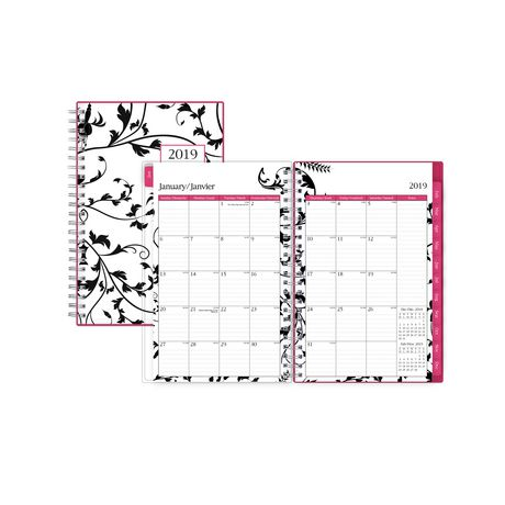 Blue Sky Analeis Medium Weekly/Monthly CYO Planner for 2019 - image 1 of 3