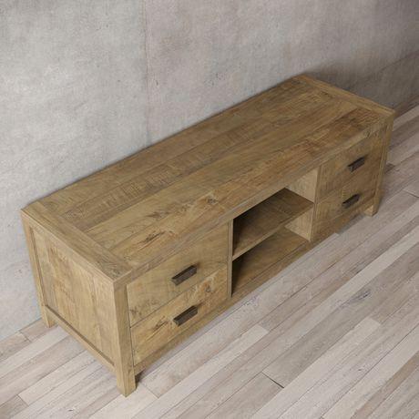 Urban Woodcraft 58'' Baltimore TV Stand - image 5 of 6