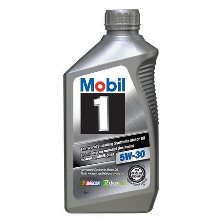 Mobil 1 Basestocks Synthetic Engine Oil Walmart Canada