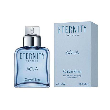 Klein Toilette Pour Vaporisateur Hommes Eternity Calvin Aqua Eau De H2E9IWYD