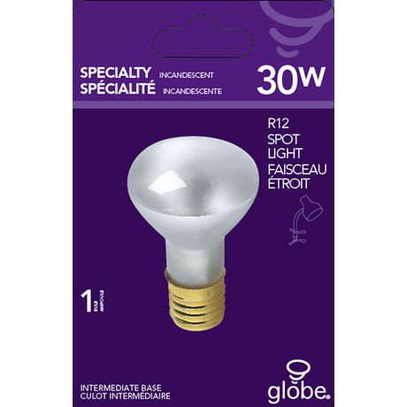 Ampoule incandescente en verre transparent de spécialité T6 sous forme de mini tube de 15W, base candélabre E12 - image 1 de 1